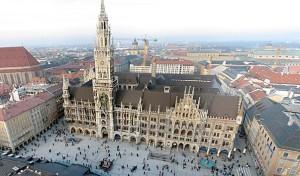Мюнхенский Мариенплац